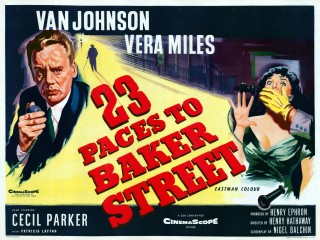 23 Paces to Baker Street 1956 Quad Poster
