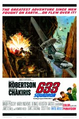 633 Squadron 1964 1 Sheet Poster