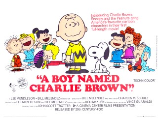 A Boy Named Charlie Brown 1969 Quad Poster