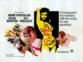 A Lovely Way to Go 1968 Quad Poster