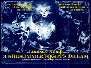 A Midsummer Nights Dream 1985 Quad Movie Poster