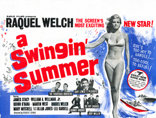 A Swingin Summer 1965 Quad UK Poster