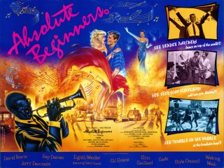 Absolute Beginners 1986 Quad Poster