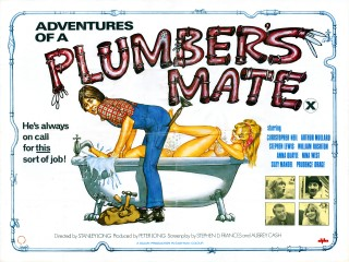 Adventures Of A Plumbers Mate 1978 Quad Poster