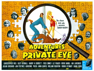 Adventures Of A Private Eye 1977 Quad Poster