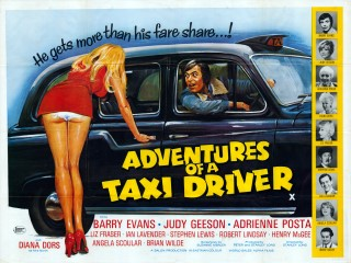 Adventures Of A Taxi Driver 1976 Quad Poster