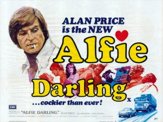 Alfie Darling 1975 Quad Poster