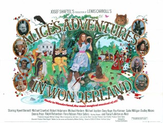 Alices Adventures in Wonderland 1972 Quad Poster