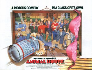 Animal House 1978 Quad UK poster