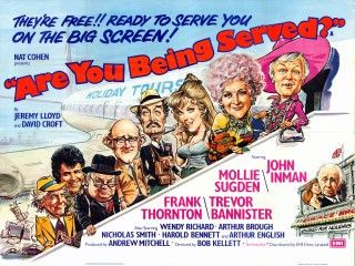 Are You Being Served? 1977 Quad Movie Poster