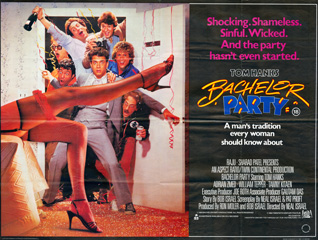 Bachelor Party 1984 Quad British poster