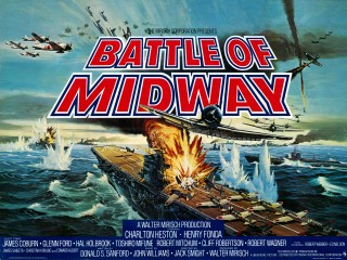 Battle of Midway 1976 Quad poster