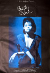 Betty Blue 1986 Subway Poster