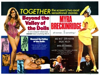 Beyond the Valley of the Dolls -  Myra Beckinridge 1970 Poster