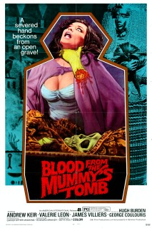 Blood from the Mummy's Tomb 1971 1 sheet poster