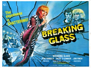 Breaking Glass 1980 Quad Chantrell Poster