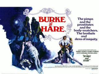 Burke and Hare 1972 Quad Poster