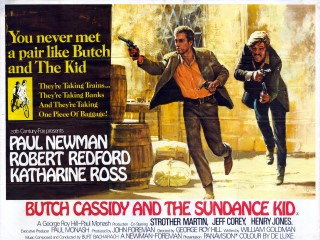 Butch Cassidy and the Sundance Kid 1969 Quad Poster