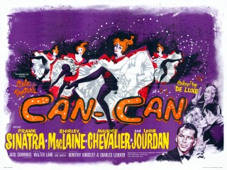 Can-Can 1960 Quad British Poster