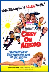 Carry on Abroad 1972 1 Sheet
