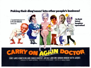 Carry On Again Doctor 1969 Quad