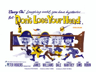 Carry on Don't Lose Your Head 1966 Quad Poster