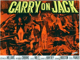 Carry on Jack 1963 Quad Dayglo Poster