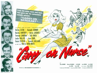 Carry on Nurse 1959 Quad UK Poster