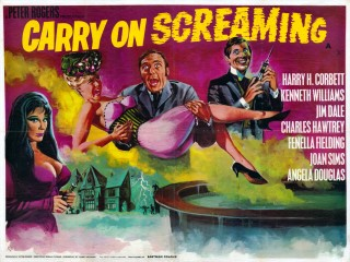 Carry on Screaming 1966 Quad Poster