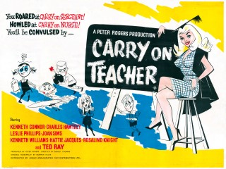 Carry on Teacher 1959 Quad UK Poster