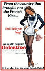Celestine 1974 1 Sheet Signed Gignilliat