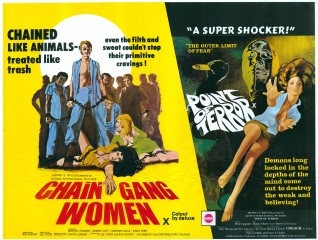 Chain Gang Women 1971 Point of Terror 1971 Poster