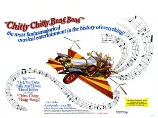 Chitty Chitty Bang Bang 1968 Quad Style B UK Poster