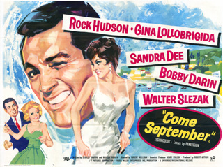 Come September 1961 Quad UK Poster