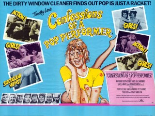 Confessions of a Pop Performer 1975 Quad Poster