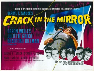 Crack in the Mirror 1960 Quad Poster