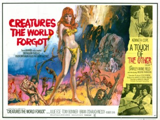 Creatures the World Forgot 1971 Quad Poster
