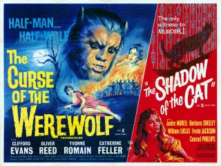 The Curse of the Werewolf 1961 Quad Poster