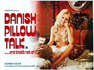 Danish Pillow Talk 1973 Quad Denmark Romantik på sengekanten