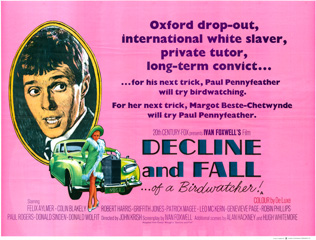 Decline and Fall of a Birdwatcher 1968 Quad
