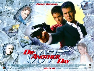 Die Another Day 2002 Quad Poster