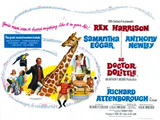 Doctor Dolittle 1967 Quad Poster
