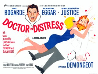 Doctor In Distress 1963 Quad Poster