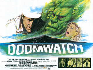Doomwatch 1972 Quad UK Poster
