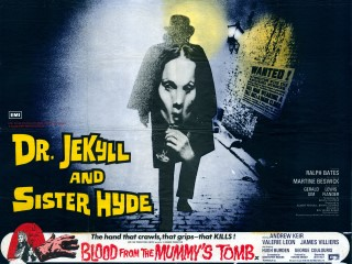 Dr Jekyll and Sister Hyde 1971 Quad Poster