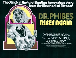 Dr Phibes Rises Again 1972 Quad UK Poster