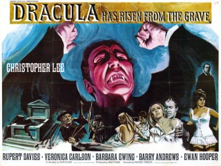 Dracula Has Risen From The Grave 1968 Quad poster