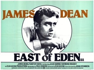 East of Eden 1955 UK Quad rerelease