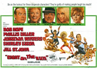 Eight On The Run 1967 Quad Poster