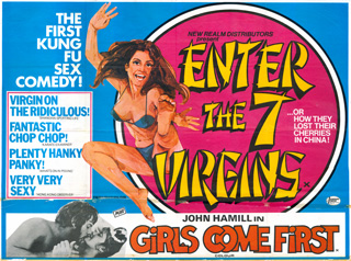 Enter the 7 virgins British Quad Poster